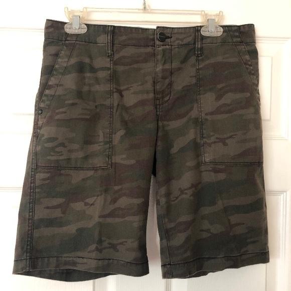 Sanctuary Pants - Sanctuary Camouflage Bermuda Shorts